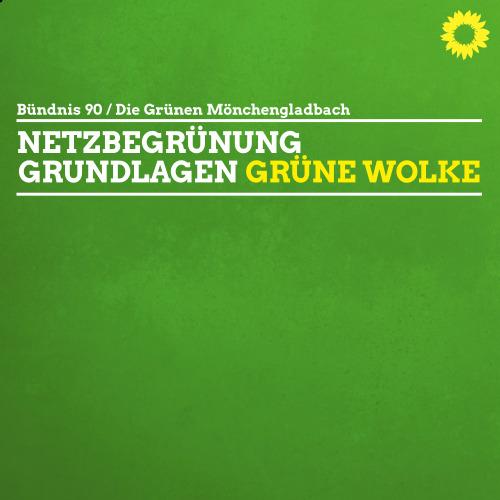 """Netzbegrünung – Grundlagen und """"die grüne Wolke"""""""
