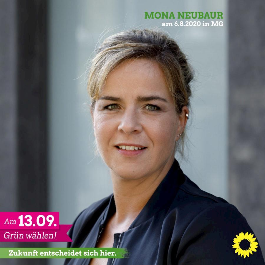 Mona Neubaur am 6.8.2020 in Mönchengladbach