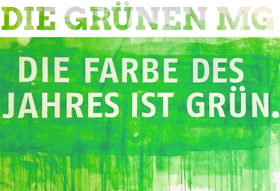 Die Farbe des Jahres ist Grün